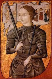 Jeanne d'Arc a apporté les preuves de son courage et de ses prouesses et a gagné son statut d'héroïne