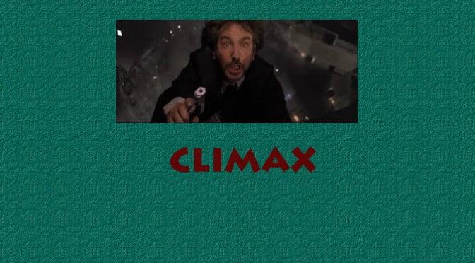 RESOUDRE L'INTRIGUE PAR LE CLIMAX