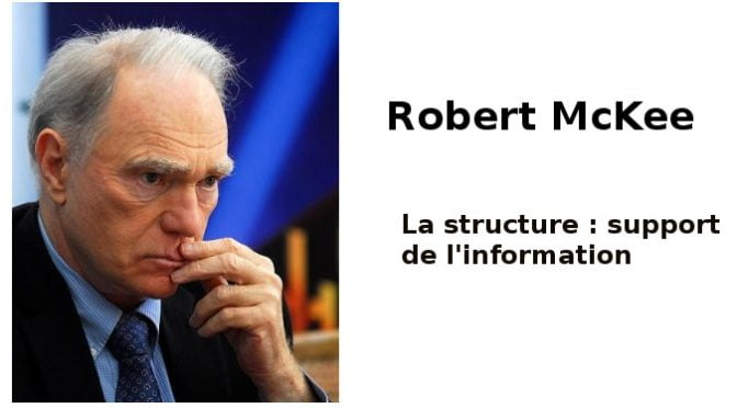 Robert McKee : structure