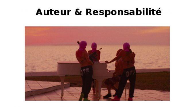 Auteur & Responsabilités