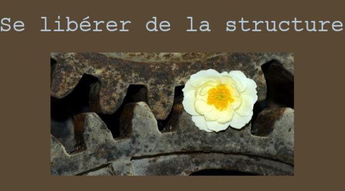SE LIBÉRER DE LA STRUCTURE